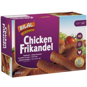 Bilal Snacks CHICKEN FRIKANDEL 40pcs